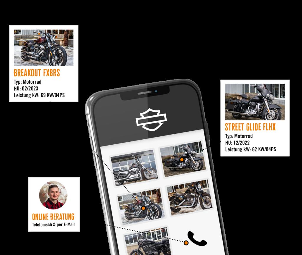 Harley-Davidson Kiel Fahrzeuge